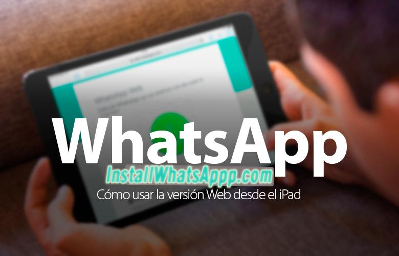 WhatsApp Web ipad