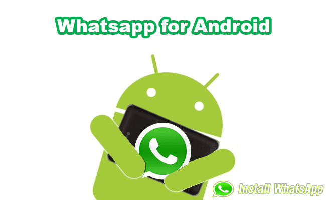 whatsapp for android 2017