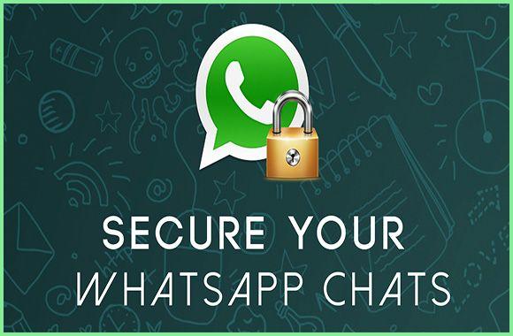 Secure my WhatsApp