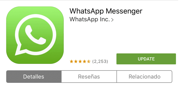 whatsapp update for ios