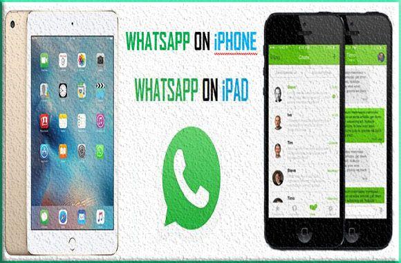 whatsapp for iphone and ipad