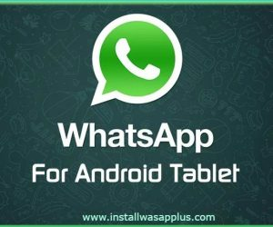 whatsapp for android tablets