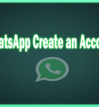 whatsapp create an account